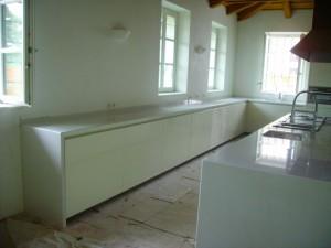 Cucina in Bianco Lasa