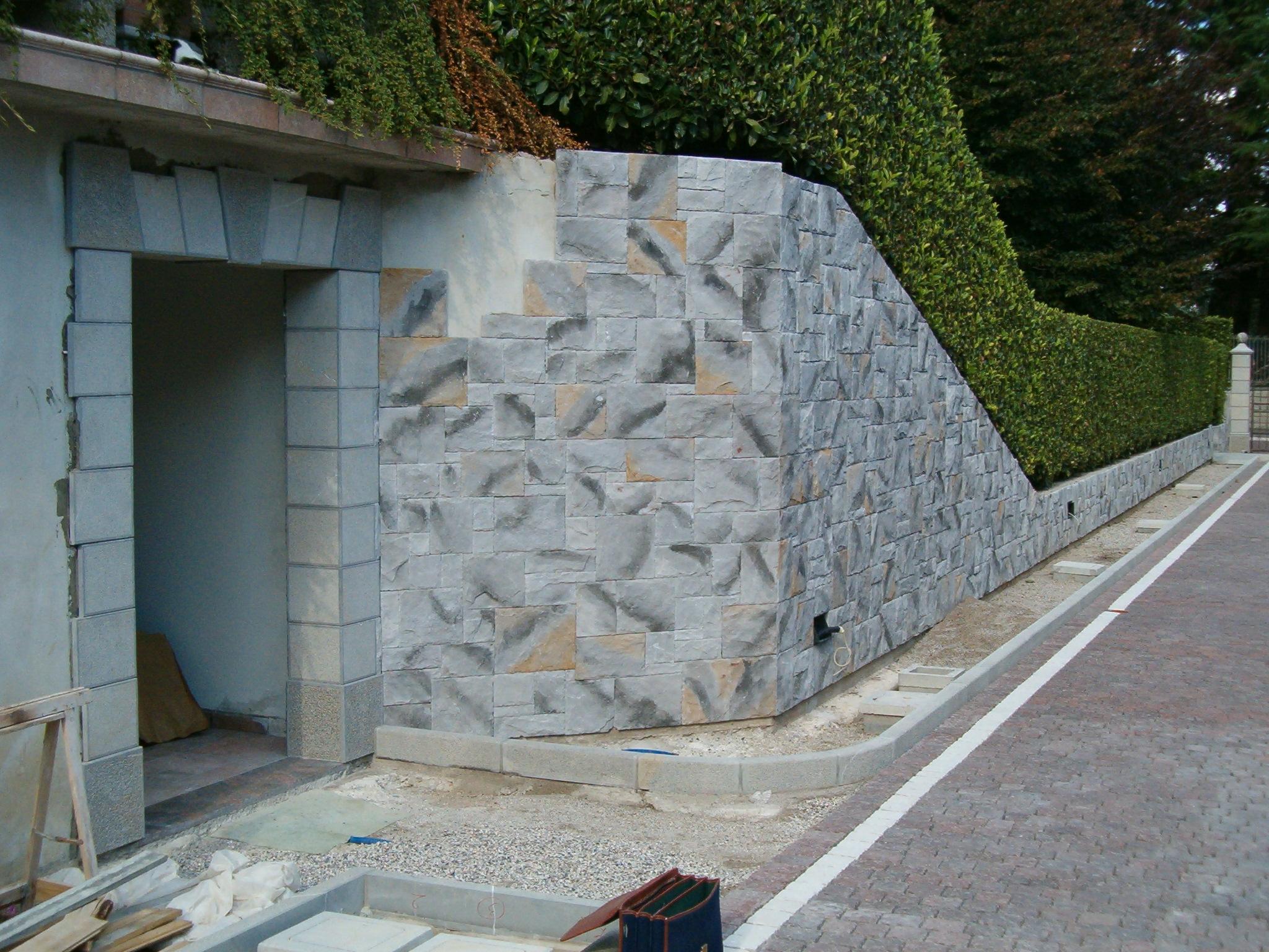Rivestimento arco finta pietra for Finta pietra in polistirolo